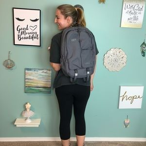 Timbuk2 Gray Authority Laptop Backpack Deluxe A2